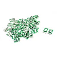 uxcell DIP SMD SMT IC PCB アダプタソケット アダプタープレート 1.27mm SOT223/SOT89 → 2.54mm 50個
