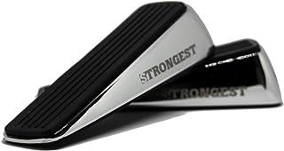 Strongest Door Stopper, Heavy Duty Door Stop Wedge Made of Premium Quality Zinc and Rubber Suits Any Door,Any Floor. Set o...