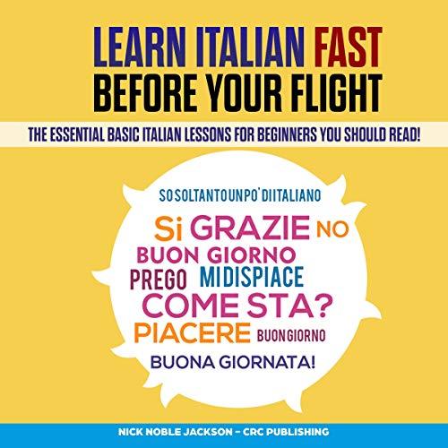 Learn Italian Fast Before Your Flight Titelbild