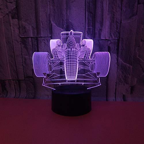 YDBDB Das Laufen der bunten Nachtlicht-Energie-Bank der Noten-3D führte Lampe Usb geführte Kinderlampe
