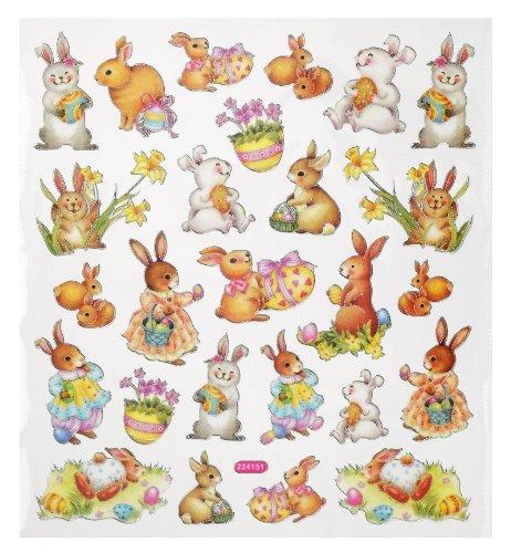 Hobby Design Sticker * Hase Hasen Ostern * Aufkleber 3452338
