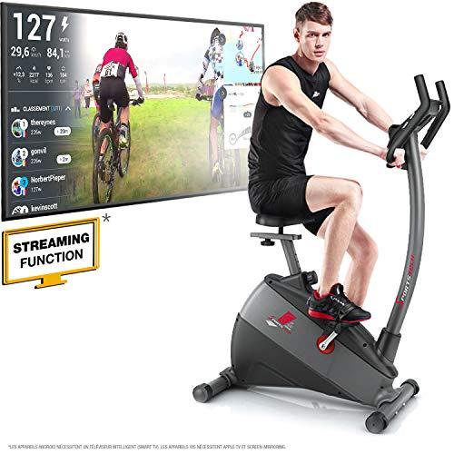 Sportstech Remise de pré-Commande Vélo d'Appartement ergomètre ESX500, Vidéos Live et multijoueur APP + écran 5,5', Poids...