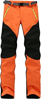 YiLianDa Hombres Pantalone De Trekking Secado Rápido Al