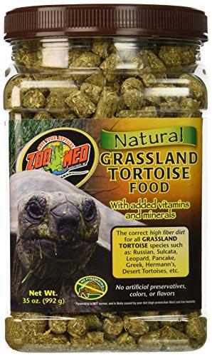 Zoo Med Natural Tortoise Food, 35-Ounce, Grassland