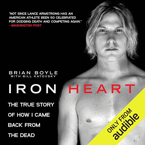 Iron Heart audiobook cover art