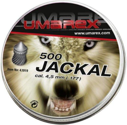 Umarex Jackal transporte 4,5 mm perdigones para pistola de aire