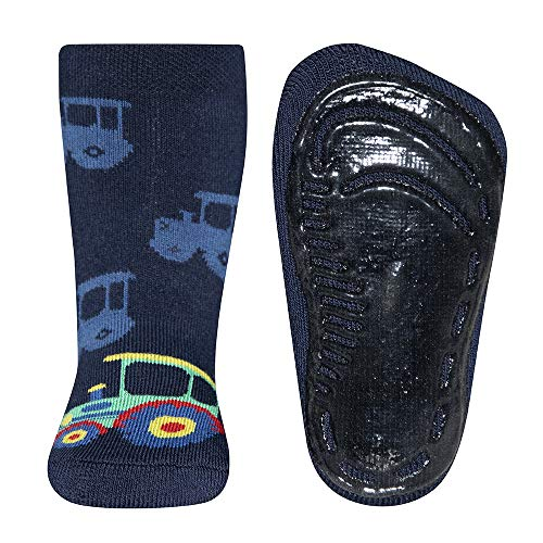 EWERS Chaussettes antidérapantes Softstep tracteur chaussettes bébé chaussettes hautes, marine