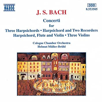 BACH, J.S.: Concertos for Harpsichords, Recorders and Violins