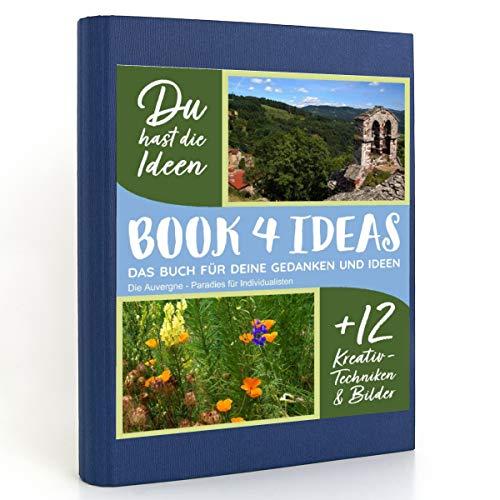 BOOK 4 IDEAS modern | Die Auvergne - Paradies für Individualisten, Eintragbuch mit...