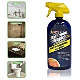 Best Glass Shower Door Cleaners - Bathroom Magic, A Nature Based Hardwater Stain Remover Review