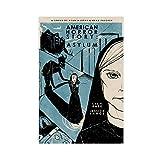 American Horror Story Lunatic Asylum Poster 1 Leinwand