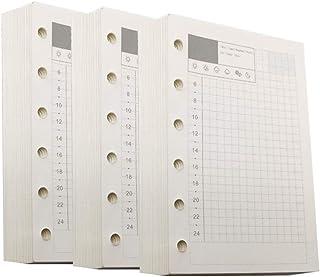 recambios para cuadernos dentro del bloc de notas Core A5//A6//A7 cocina N A Home accessories 6 agujeros hojas sueltas sueltas de papel de hoja suelta