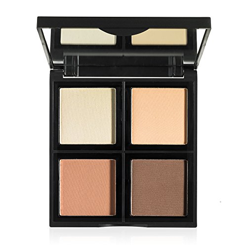 e.l.f. Contour Palette, 4 Shades, Customizable, Easy to Apply, Sculpts,...