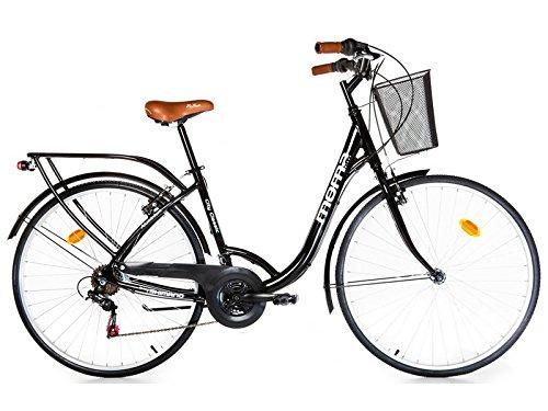 Moma Bikes City Classic 28' -  Bicicleta Paseo , Aluminio , SHIMANO 18V