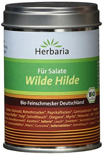 """Herbaria \""""Wilde Hilde\"""" Mischung für Salatdressing, 1er Pack (1 x 100 g Dose) - Bio"""