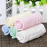Makfacp Baumwolltuch, Speicheltuch, Stillhandtuch, Taschentuch, Gesichtstuch, Wischtuch