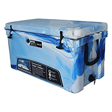 MILEE Heavy Duty 75 QT ICE CHEST Marine CAMO with($50.0 Accessories sent free) free Divider,cup holder and basket
