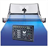 Butterfly Amicus Expert Table Tennis Robot—Fantastic Ball Launcher/Thrower/Shooter for Your Ping Pong Table—Free Carry Bag, Remote, Tech Support, & 120 Balls—Play Or Practice Ping Pong Anytime