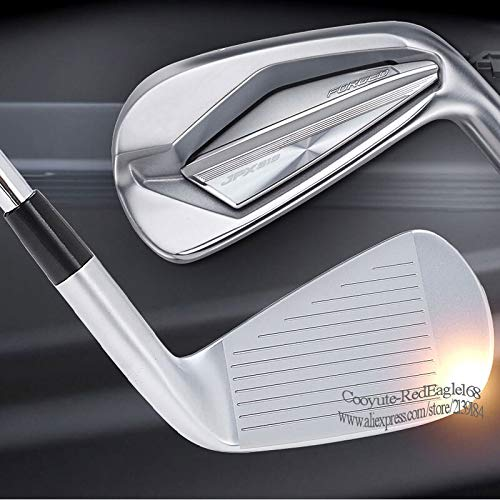 Golf Clubs JPX 919 Forged Golf Irons 4-9PG Clubs Irons Set Steel or Graphite Shaft and Golf Grips (Color : Project X 5.5 Steel)