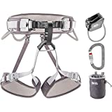 PETZL Corax Kit with AMD Sl, Verso, Bandi & Powerball, 1, Gray, One Size