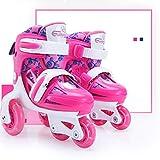 YSCYLY Rollers pour Enfants Adultes,Chaussures de Course pour Patins à roulettes pour Enfants,pour Enfants Et Adolescents