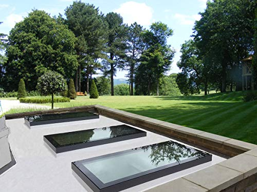 Thermolight Skylight Flat Roof Lantern Rooflight Glazed 2000mm x 1000mm