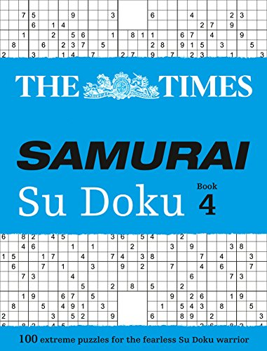 The Times Mind Games: Times Samurai Su Doku 4