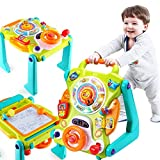 Product Image of the iPlay, iLearn 3 in 1 Baby Walker Sit to Stand Toys, Kids Activity Center,...