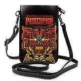 Puscifer - Bolso bandolera para teléfono celular, color negro
