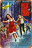 West Side Story Movie Poster Retro Zinnschild Poster