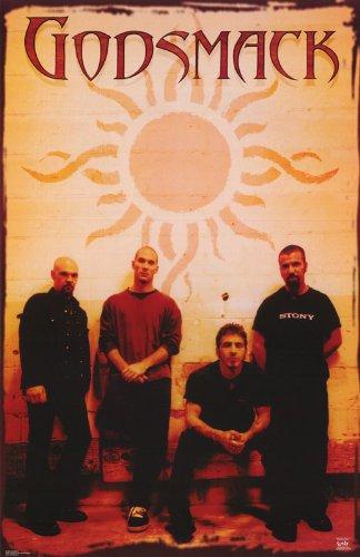 godsmack Poster god Smack Band Shot