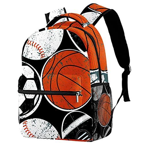 nakw88 Mochila deportiva Bolsas de gimnasio Bolsillo Mochilas de viaje Bolsillo antirrobo Bolsa de entrenamiento resistente al agua Balones deportivos Fútbol Béisbol Baloncesto