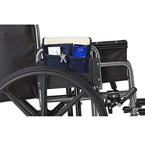 Rollstuhl-Armpolster, Rollstuhl-Armlehnentasche, Denim, 1 Paar CYYL103