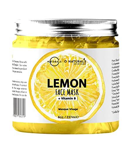 Maschera Purificante Idratante Gel Viso al Limone...
