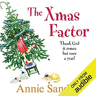 The Xmas Factor                   By:                                                                                                                                 Annie Sanders                               Narrated by:                                                                                                                                 Kim Hicks                      Length: 10 hrs and 25 mins     104 ratings     Overall 3.7