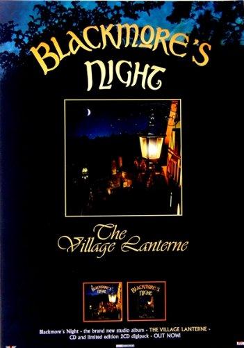 Blackmore 's Night–2006–Promo Póster–Deep Purple–Village Lanterne