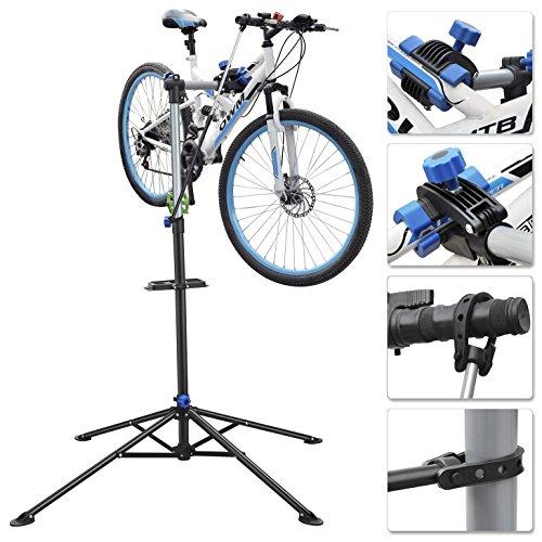 World Pride Pro Mechanic Folding Bicycle Repair Stand Bike Workshop Stand Tool