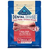 Blue Buffalo Dental Bones Natural Adult Dental Chew Dog Treats,...