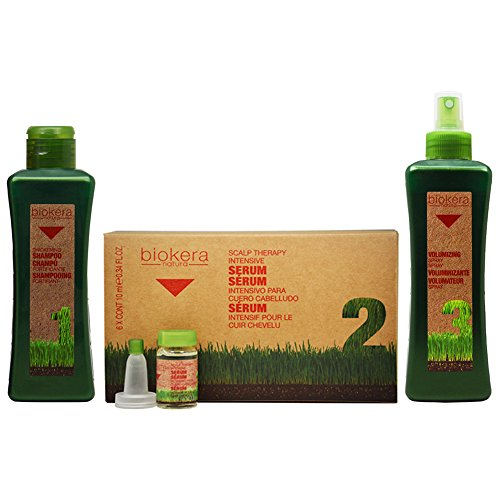"Salerm Biokera Natura Thickening Hair Care 3-Steps""Set"""