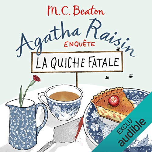 La quiche fatale audiobook cover art