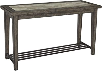Amazon.com: GreenForest Console Table Wood and Metal Sofa ...