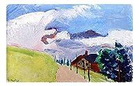 """アンリ・マティスによるスイスの風景キャンバスプリント、寝室の家の装飾、キャンバスの絵画の写真、オフィスの装飾のためのキャンバスの壁の芸術 45x72cm 18 """"x28""""フレームレス"""