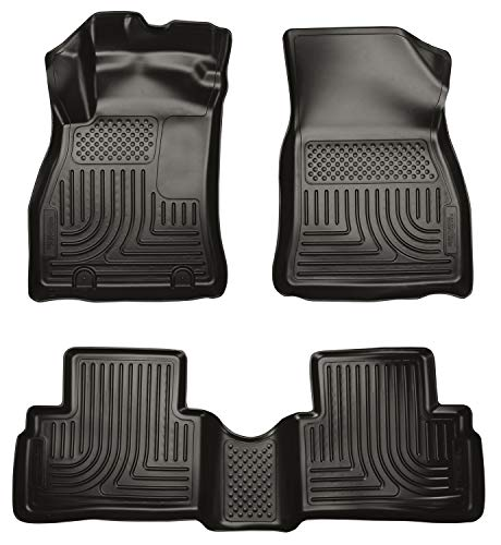 Husky Liners Fits 2011-17 Nissan Juke Weatherbeater Front & 2nd Seat Floor Mats