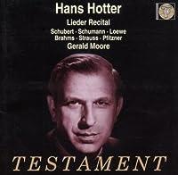 Lieder Recital-Schubert Schumann Loewe Et Al.