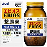 エビオス整腸薬 504錠 【指定医薬部外品】 EBIOS 乾燥酵母(ビール酵母)+乳酸菌3種 便秘 軟便 整腸