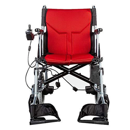 KMCQA Elektrische Rollstühle Leicht Faltendes Design Leichtes Lithium Batterie Mobilitäts Scooter Dual Motor Powerchair 4-Wheel Motorized Chair