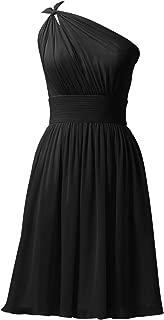Alicepub Chiffon Bridesmaid Dresses Short Prom Party Dress Evening Gown
