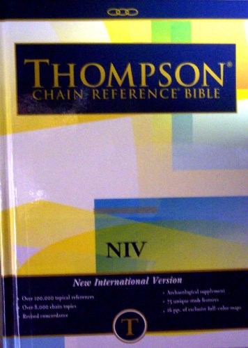 Thompson Chain Reference Bible (Style 823) - Regular Size NIV - Hardcover (Order #823)