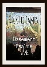 Basement Psalms Live Concert Dvd by Rick Lee James