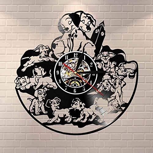 Reloj de Pared con Registro de Vinilo, Regalo Creativo para niños y niñas, Adolescentes, Amigos, diseño artístico único, Reloj de Pared de Vinilo de 12 Pulgadas